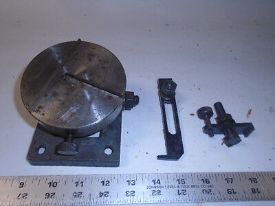Machinist Lathe Mill German Precision Micro Tilting Rotary Table 4 Graduated