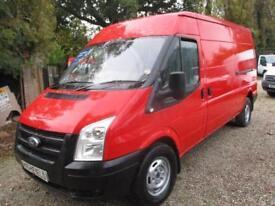 2012 Ford Transit 2.2TDCi NO VAT 6 SPEED Med Roof Van 350 LWB GENUINE MILES