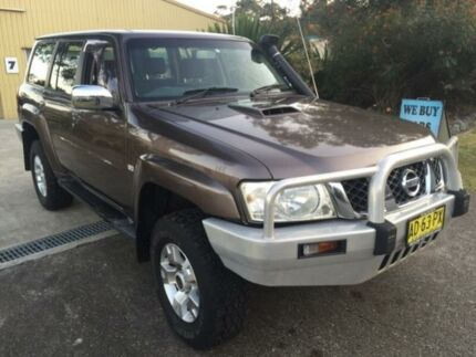 2005 Nissan Patrol GU IV ST-S (4x4) Gold 4 Speed Automatic Wagon Macquarie Hills Lake Macquarie Area Preview