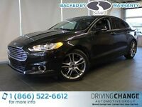 2013 Ford Fusion Titanium-AWD-Moon Roof-Nav-Active Park Assist