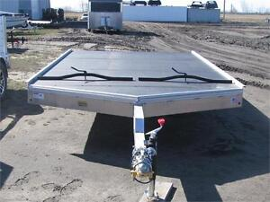 H&H 12' 2 Place Sled Trailer