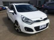 2013 Kia Rio UB MY13 SLi White 6 Speed Sports Automatic Hatchback Ravenhall Melton Area Preview