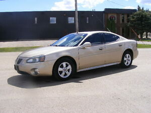 2005 PONTIAC GRAND PRIX GT -SUNROOF-3.8 LITRE-NEW WINTER TIRES