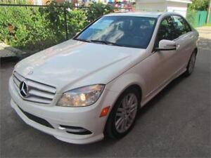 2011 MERCEDES-BENZ C250-4WD-*TRÈS PROPRE** SUNROOF* $59 SEMAINE