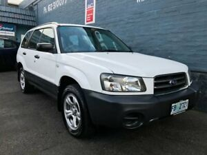 2004 Subaru Forester MY04 X White 4 Speed Automatic Wagon Glebe Hobart City Preview