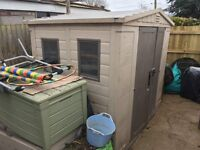 Keter shed - used.