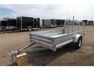 JUST REDUCED! 3 LEFT!!  5X10 GALVANIZED UTILITY TRAILER