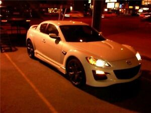 2009 White Rx8 R3 Edition