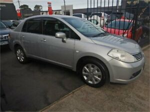 2008 Nissan Tiida C11 MY07 ST Silver 4 Speed Automatic Sedan Burwood Whitehorse Area Preview