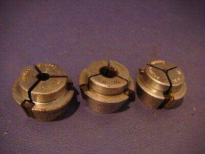 Hardinge 10 Round Stub Collet Set 3 Pcs. 332 1132 316.