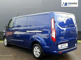 2014 Ford Transit Custom 290 LIMITED LR P/V Diesel blue Manual
