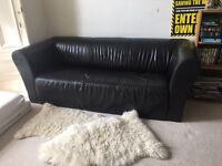 Lovely Italian Leather Sofa