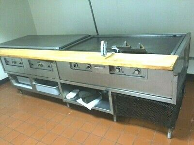 Flat Top Grill- 8ft Long Commercial