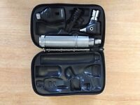 Welch Allyn Otoscope and Ophthamoscope with hard protective casing