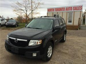 2008 MAZDA TRIBUTE GX - AWD - POWER OPTIONS - LOW KM - AUTOMATIC