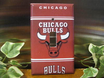 Chicago Bulls Light Switch Wall Plate Cover #1 - Variations