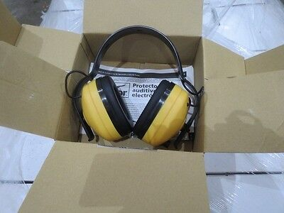 Condor Electronic Ear Muff 4frl9 New 23 Db Yellow