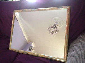 Large Mirror £10 (in good condition)