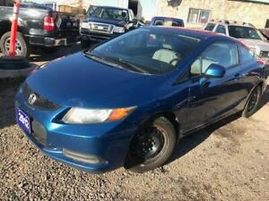 2012 Honda Civic Cpe EX-L,SUNROOF,NAVIGATION,LEATHER CERTIFIED