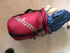 Sleeping bag LA FUMA  can be used in extreme temperatures/clean