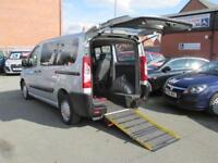 Peugeot expert wheelchair accessible, disabled access car, WAV