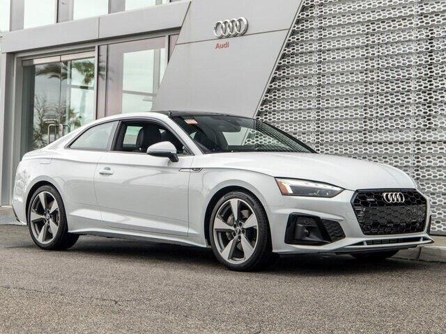2020 Audi A5 2.0T Premium Plus 7-Speed Automatic S tronic 3405 Miles Glacier Whi