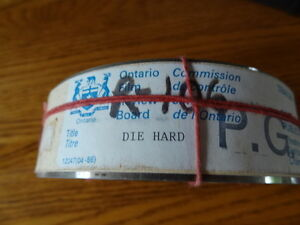 4 Movie Trailers Die Hard Caddyshack 2 & Hot to Trot 1988-Rare London Ontario image 2