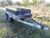 Indespension 2600kg twin axle dual purpose plant trailer (NEW REDUCED PRICE)
