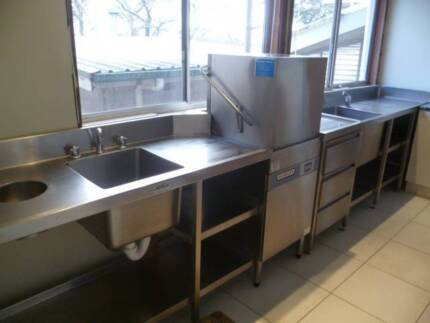 COMMERCIAL KITCHEN SINKS - DISH WASHER - BENCHES Emerald Cardinia Area Preview