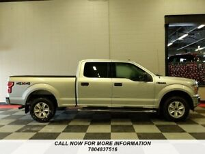 2018 Ford F-150 4X4,Crew Cab, XLT, Power Seat, Back Up Camera