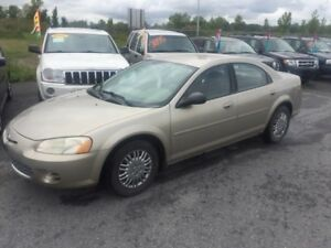 2002 Chrysler Sebring LX Bas Kilométrage Winter beater
