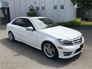 2013 MERCEDES BENZ C300 4MATIC LEATHER SUNROOF 104KM