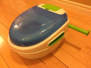 Petit pot d'entrainement à la propreté et sièges de toilette