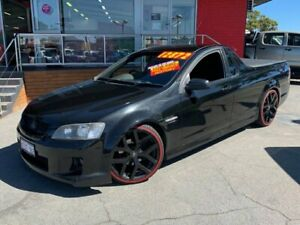 2008 Holden Ute VE SV6 60th Anniversary Utility 2dr Spts Auto 5sp 3.6i Black Sports Automatic