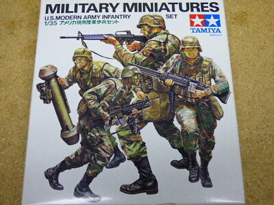 Tamiya Military Miniatures 1/35 U.S. Modern Army Infantry for sale  Des Moines