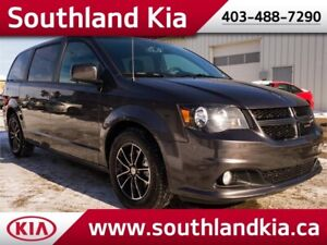 2018 Dodge Grand Caravan GT **LEATHER INTERIOR-NAVIGATION**