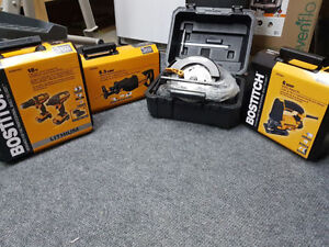 BOSTITCH Power Tools Bundle , Brand NEW /NEUF.
