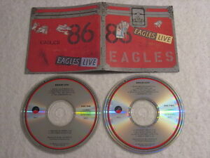 EAGLES EAGLES LIVE 2 CDs Fat Box US Deleted Long Box Out OfPrint Rare - Italia - EAGLES EAGLES LIVE 2 CDs Fat Box US Deleted Long Box Out OfPrint Rare - Italia