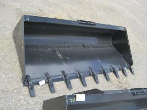 "New 84"" Skid Steer Tooth Bucket"