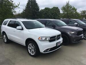 2016 Dodge Durango Limited white or grey