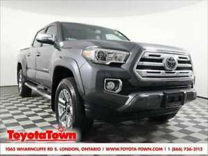 2018 Toyota Tacoma LIMITED LEATHER NAVIGATION BLIND SPOT MONITOR