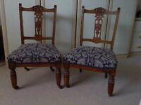 Pair of Nursing Chairs