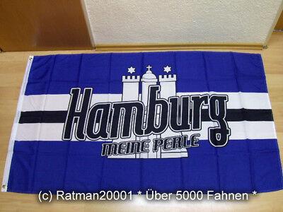 Fahnen Flagge Hamburg meine Perle Nr.3  - 90 x 150 cm