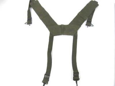Used, Vietnam Era USMC or US Army M1956 H-Pattern Field Suspenders - Size Reg for sale  Henderson
