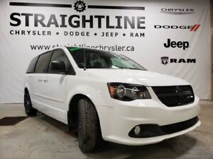 2017 Dodge Grand Caravan SXT BLACKTOP, Dealer DEMO, LOW KM