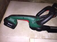 Hedge Trimmer Qualcast Hedge trimmer used