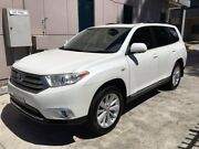 Toyota Kluger 2013 Altitude 2wd - 7 seater Seven Hills Blacktown Area Preview