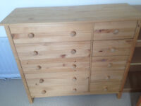 Argos chest of drawers with 10 drawers