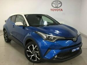 2017 Toyota C-HR NGX50R Koba S-CVT AWD Blue 7 Speed Constant Variable Wagon Chatswood Willoughby Area Preview
