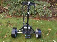 ELECTRIC GOLF TROLLEY. HILL BILLY